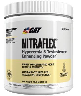 GAT Nitraflex best preworkout