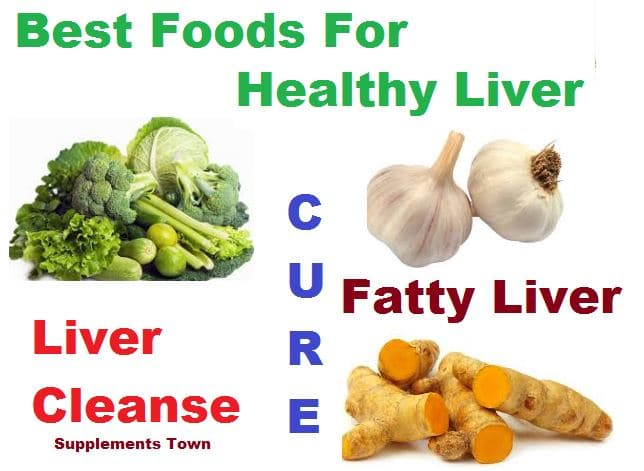 what diet is best for a fatty liver