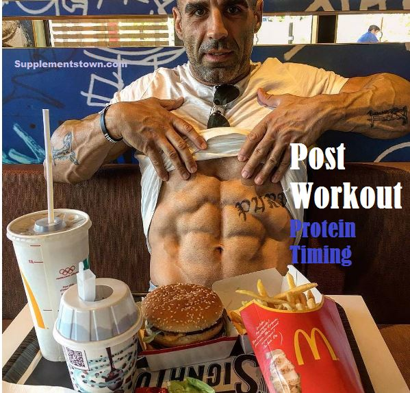 protein after workout