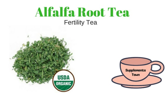 Alfalfa Root Fertility Tea