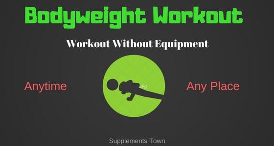 Bodyweight Workout no equipment