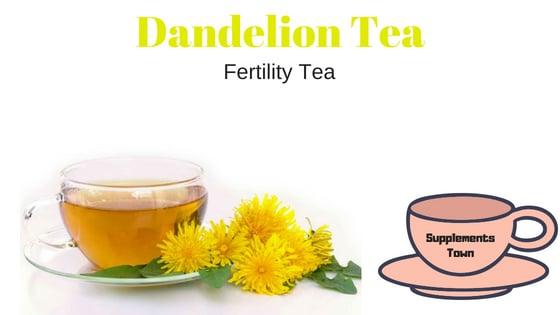 Dandelion Fertility Tea